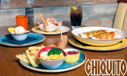 Family Lunch for Two Adults and Two Children at Chiquito, 102 Locations