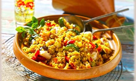 Degustación 6 platos o menú árabe con entrante, principal, postre y bebida desde 15,90 € en Restaurante de la casa Árabe