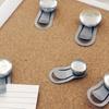 Quartet Bubble Push Pins with Clips (12-Count)