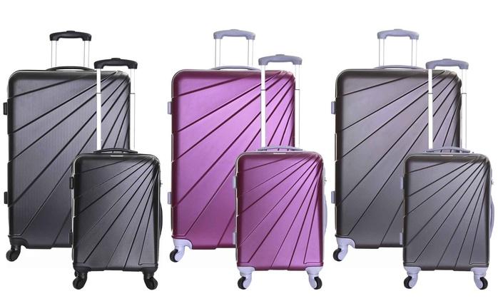 Slimbridge Fusion 55cm or 76cm Hard Suitcase