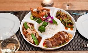 Restaurant Grissino: Menu thailandese da 4 portate con vino per 2 o 4 persone al ristorante Grissino (sconto fino a 78%)