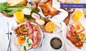 PER NOI | Restaurant & Bar: Sonn- und Feiertags-Brunch-Buffet mit Getränken für 2 oder 4 Personen im PER NOI | Restaurant & Bar (bis zu 33% sparen*)
