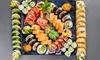 Duże porcje japońskich przysmaków
