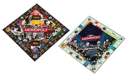 Kiss Or Metallica Monopoly Games Groupon Goods