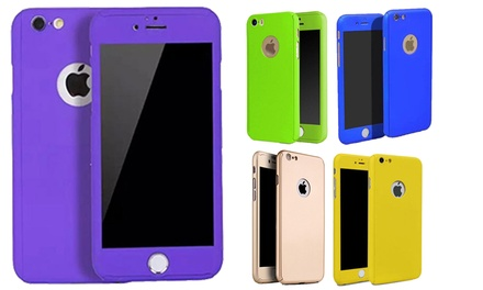 360 Case for Iphone with Tempered Glass