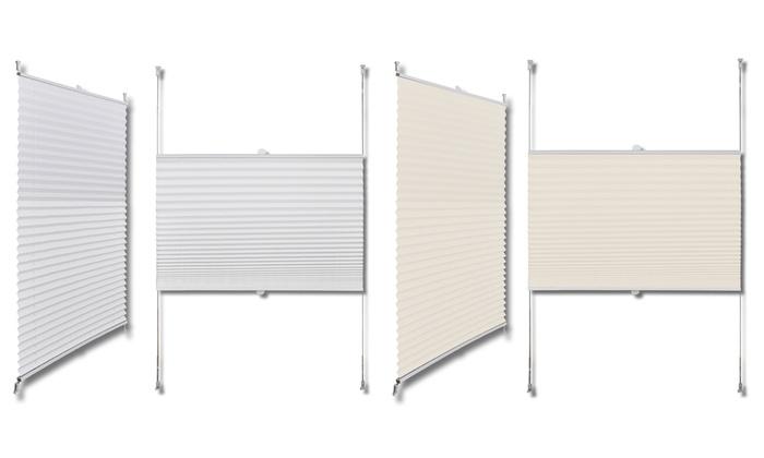 plisse rollo was ist ein plissee rollo with plisse rollo. Black Bedroom Furniture Sets. Home Design Ideas
