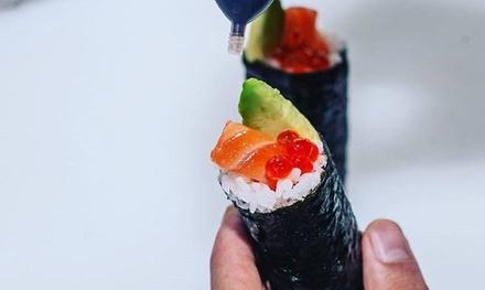 10 Gourmet Sushi Rolls Maxi