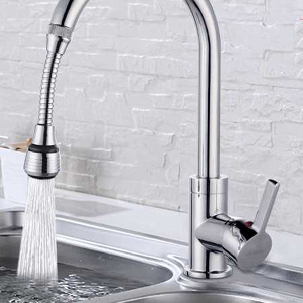 One, Two or Four Flexible Tap Faucet Extensions