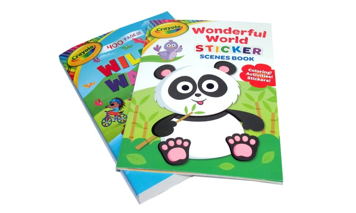 9 Off On Kids Activity Book Set 2 Pc