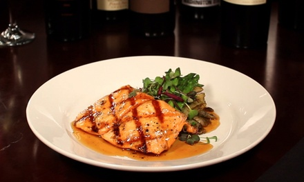 $12 for $20 Worth of American Food and Drinks at 5th and Wine