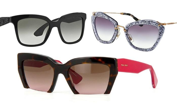 dc612bf6f0e9 Miu Miu Women s Designer Sunglasses
