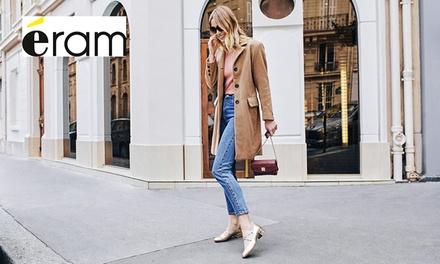 Chaussures, maroquineries...40% de réduction en boutique ou en ligne sur le site Eram. fr pour seulement 5 euros