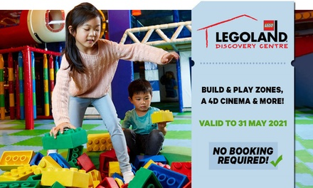 LEGOLAND Discovery Centre Melbourne: Child or Adult Entry for $26 (Up to $32.50 Value) - Valid till 31st May 2021