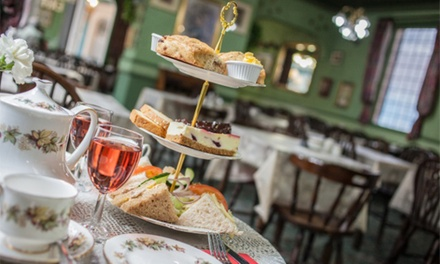 Afternoon Tea with Prosecco For Two or Four at The Victorian Restaurant