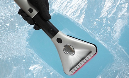 Deluxe Electric Telescoping Windshield Scraper
