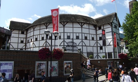 Shakespeare's Globe Exhibition and Tour Tickets 1 November 2017 - 28 February 2018 (Up to 25% Off)