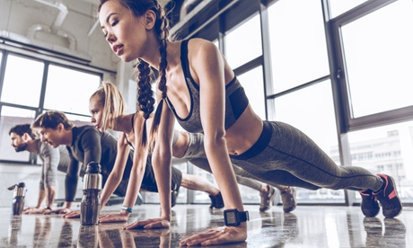 Group Fitness 5-Class Pack or One Month of Unlimited Group Fitness Classes at Main St. Fitness (Up to 58% Off)
