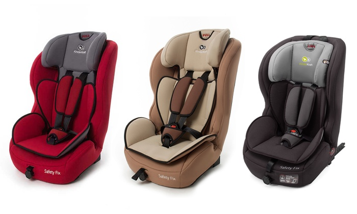 Kinderkraft Group 1/2/3 Safety Car Seat With ISOFIX Base With Free Delivery for £69.99
