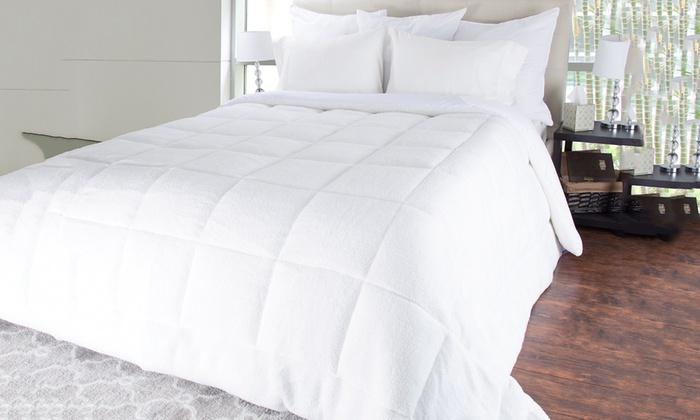 Bluestone oversized reversible down alternative comforter - Home design down alternative comforter ...