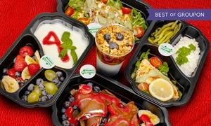 Eat4Fit: Zdrowe odżywianie: catering dietetyczny z 5 dań od 95,99 zł i więcej z firmą Eat4Fit