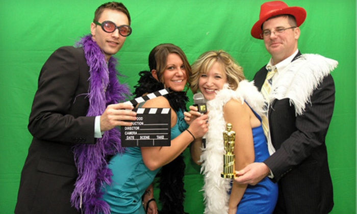 AMB Media Group LLC - Charlotte: $299 for a Three-Hour Green Screen Photo Booth Rental from AMB Media Group LLC ($700 Value)