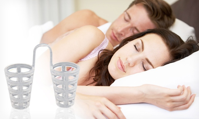 Snorepin Snoring And Apnea Aid Groupon