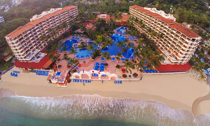 Deluxe all inclusive puerto vallarta winter getaway with for All inclusive winter vacations