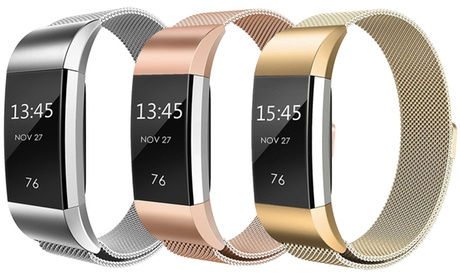 Milanese Loop Mesh Replacement Band for Fitbit Charge 2