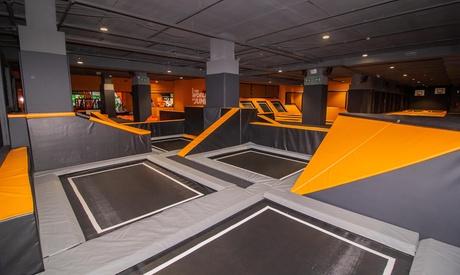 1 hora y media de saltos en camas elásticas para 1, 2 o 4 desde 9,95€ en Urban Planet Jump Villalba Planetocio