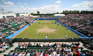 LTA British Tennis: Entry to Aegon Open Nottingham and Donation to the Rainbows Hospice, Nottingham Tennis Centre, 6 June