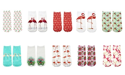 Multipack Flamingo Socks