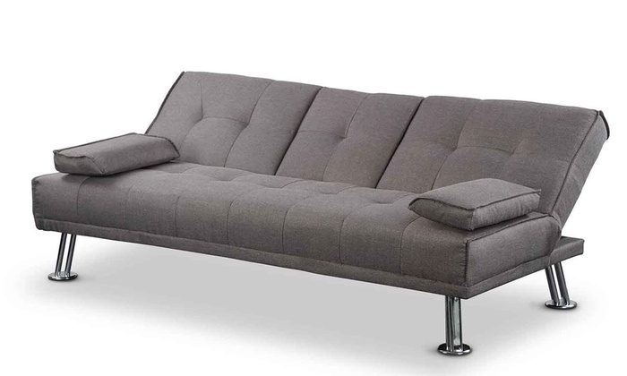 New york 3 seater sofa with table groupon for York sofa bed