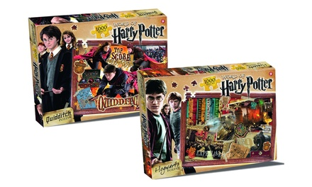 Two 1000Piece Harry Potter Jigsaw Puzzles