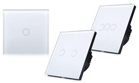 Interruptor inteligente de pared Wi Fi con 1, 2 o 3 botones Oferta en Groupon