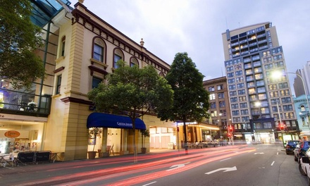 Sydney, NSW: 1- or 2-Night Stay for Two People at the Capitol Square Hotel Sydney