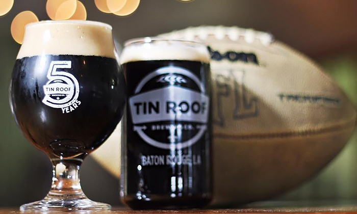 Tin Roof Brewing Company   Baton Rouge: $26 For Tasting Package For Two At  Tin ...