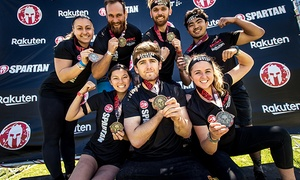 Up to 60% Off Race Registration from Spartan Race