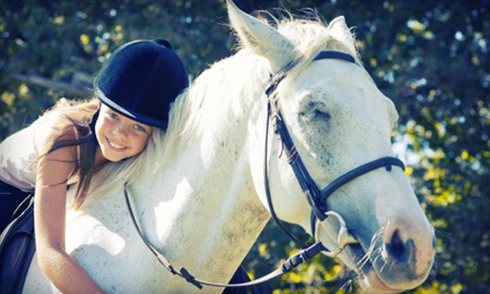 Serene Acres Riding Center - Berkeley Chase: Kids' Horseback-Riding Camp at Serene Acres Riding Center (55% Off). Five Dates Available.