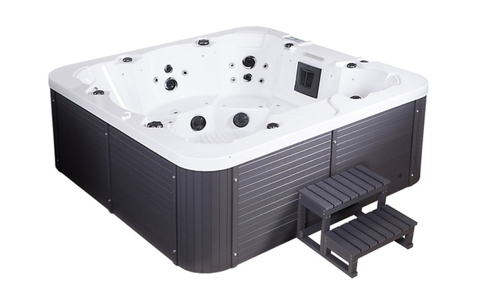 Home Deluxe Outdoor-Whirlpool | Groupon