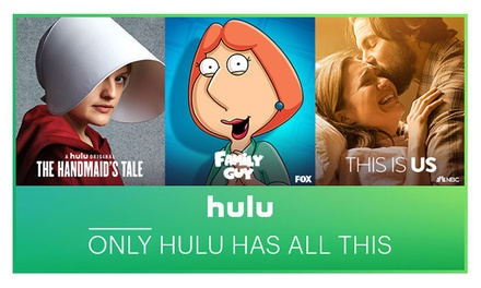 Hulu 45-Day Free Trial - Hulu   Groupon