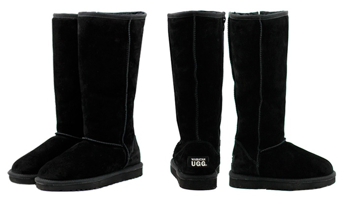 e9a895a2269 Up To 70% Off Tall Zip Up Water-Resistant UGG | Groupon