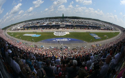 Monster Energy NASCAR Cup Series FireKeepers Casino 400 for Two with Pit Passes on June 18 at 3:00 p.m.