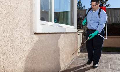 image for $39 for Organic or Regular Interior and Exterior Pest-Control from Berrett Pest Control ($200 Value)