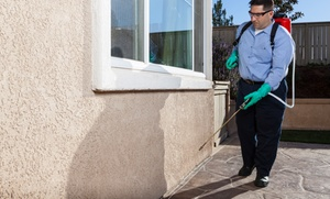 Berrett Pest Control: $35 for Organic or Regular Interior and Exterior Pest-Control Service from Berrett Pest Control ($200 Value)