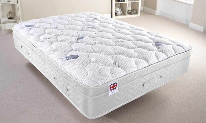 Pure Sleep Memory-Foam Mattress with Built-In Topper