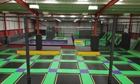 Trampoline Party for Up to 10 Children at Jump Ninja (30% Off)