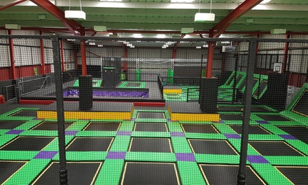 One-Hour Trampoline Jumping Session for Two or Three at Jump Ninja (Up to 33% Off)