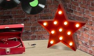 1 ou 2 étoiles lumineuses à LED