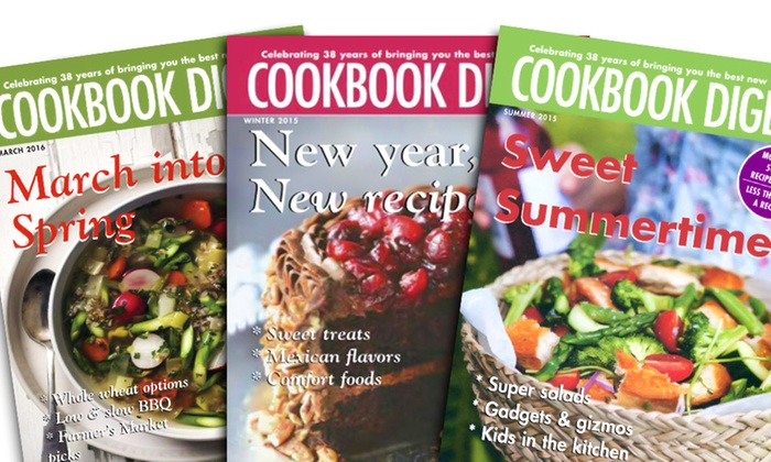 Blue Dolphin Magazines **NAT**: One-Year, Four-Issue Subscription to Cookbook Digest Magazine
