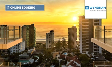 Queenstown: 2 or 3 Nights for Two with Wine, Movie Hire and Late Check-Out at 4* Wyndham Resort Surfers Paradise